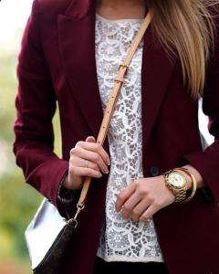 Burgundy Women's Clothing