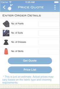 Mulberrys Mobile App Price Quotes