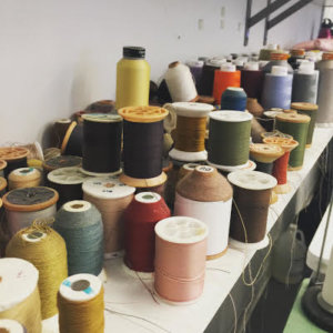 Spools of Thread at Mulberrys