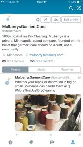 Mulberrys on Twitter