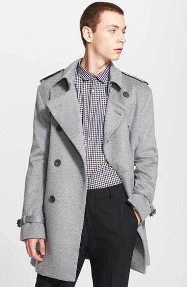 Burberry raincoat for men
