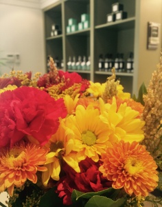 Fall flower bouquet at Mulberrys Minneapolis