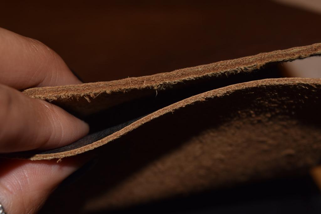 Full-grain leather vs. Top-grain leather