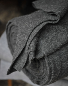 Bolt of Wool Material