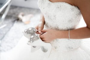Choose a cleaner who can properly preserve your wedding gown