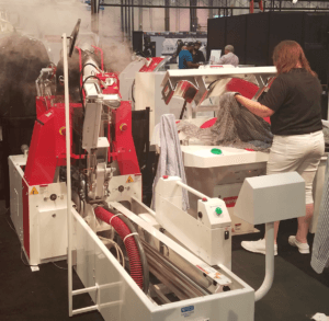 We learned about new ways to clean and press clothes at The Clean Show.