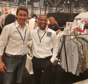 Our CEO, Dan Miller, met with other dry cleaning professionals at The Clean Show.