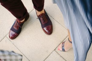 Let our cobblers fix your damaged shoes with our shoe shine and repair deals.