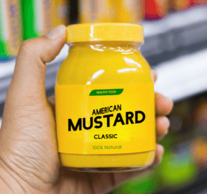 Mustard stains are worse than ketchup stains.