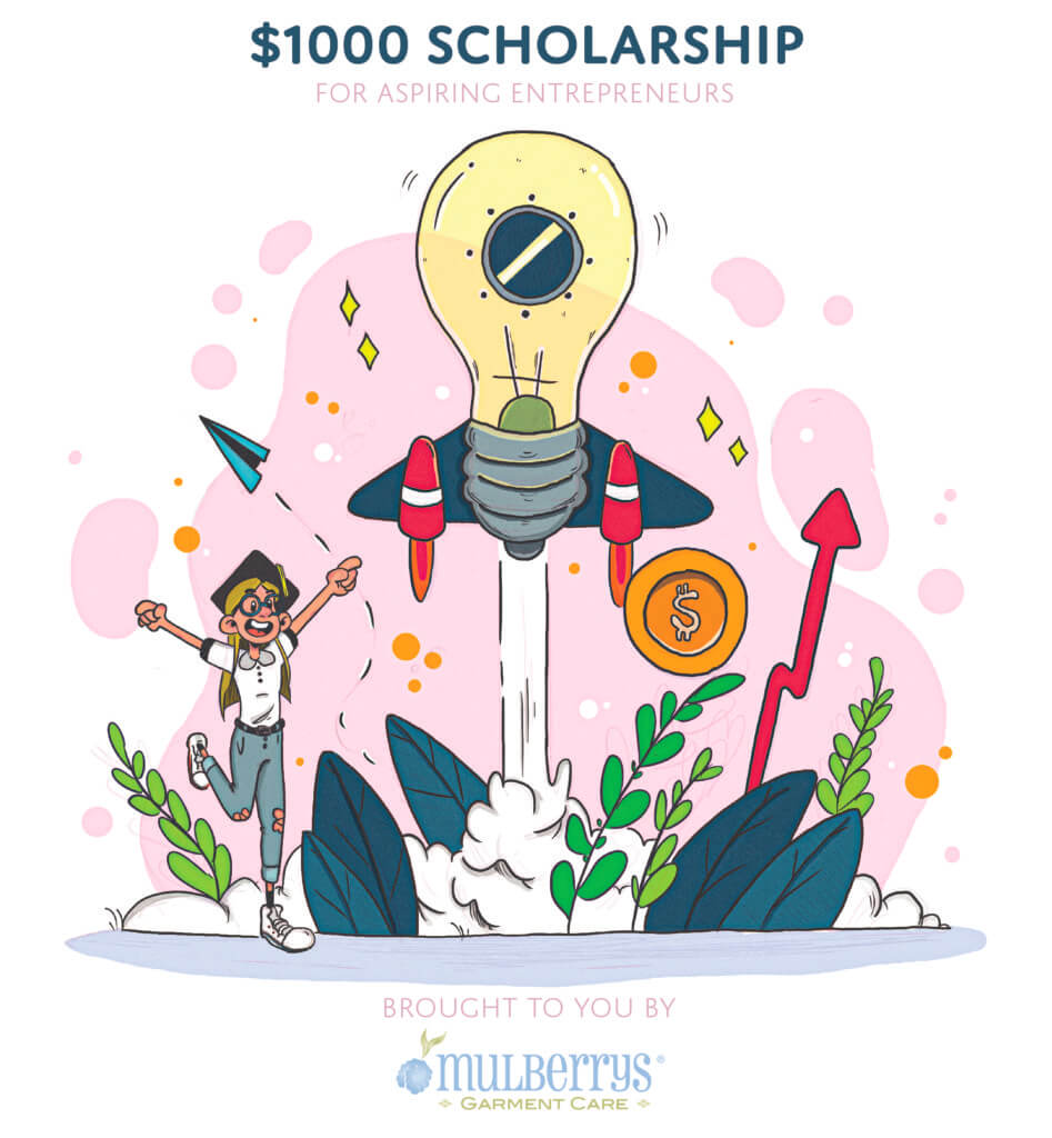Third annual $1,000 college scholarship.